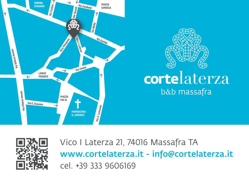 Bed and breakfast a Massafra | B&B Corte laterza